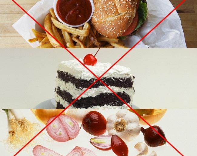 что нельзя есть во время грудного вскармливания