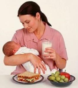 список запрещенных продуктов при грудном вскармливании