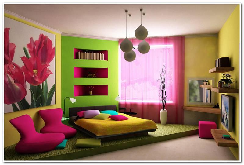 Дизайн комнаты для девушки подростка - светлые и яркие тона дизайн комнаты для девушки подростка