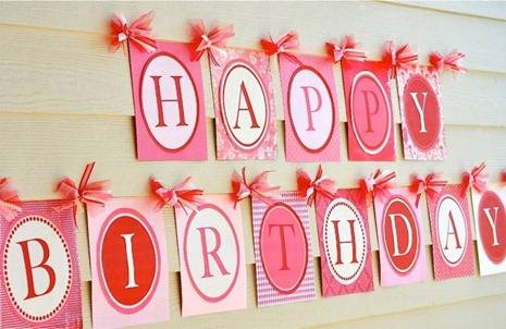 Гирлянда «Happy Birthday»